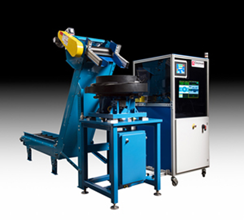 Molded Part Inspection and Material Handling System
