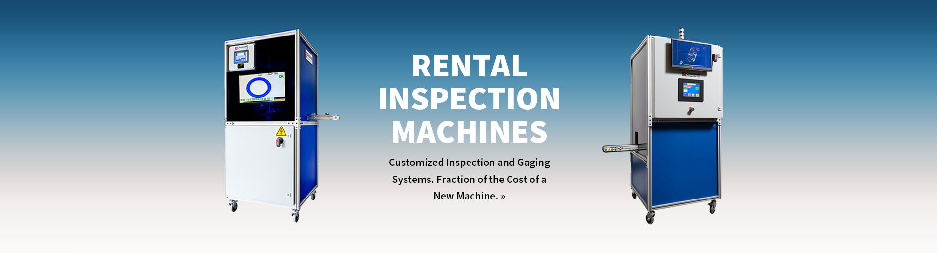 Rental Inspection Machines