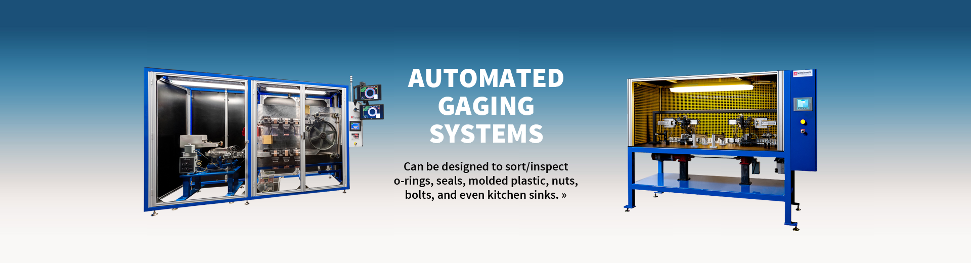 Automated Gaging Systems