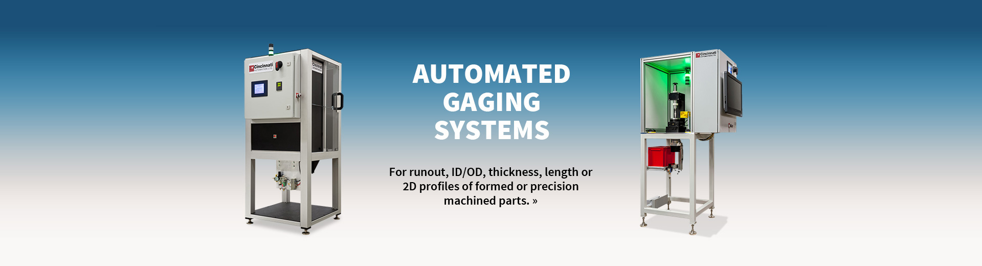 Slide 3 | Automated Gaging Systems