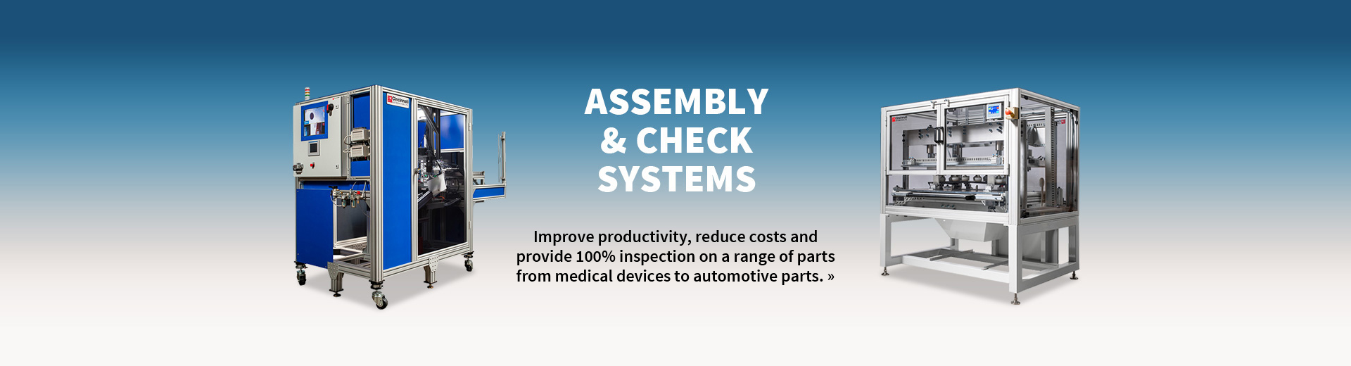 Assembly & Check Systems